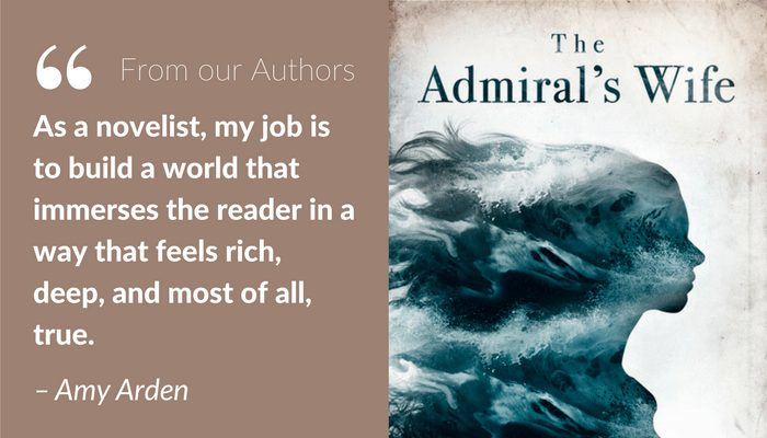 Amy Arden: Worldbuilding in historical fiction