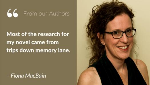 Author Fiona MacBain Blog Post