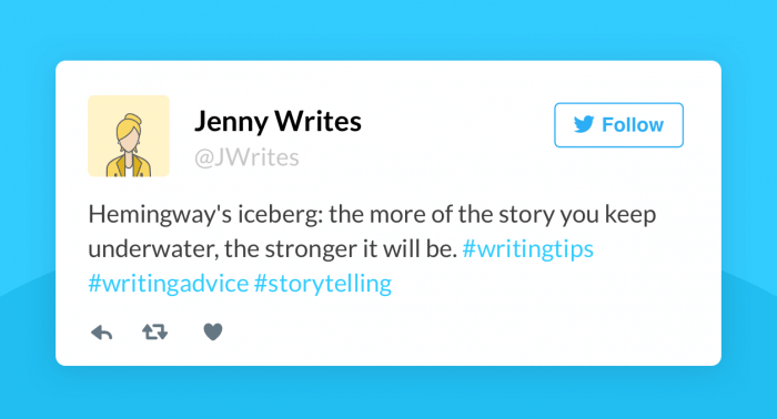 Writing Tips from Twitter