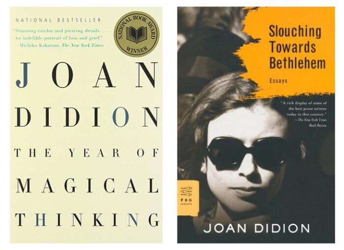 joan didion on morality 1 didion's attitude toward wagon-train morality is trustworthy this is a kind of morality that she trusts and is a genuine type of morality her example of wagon-train morality is with.