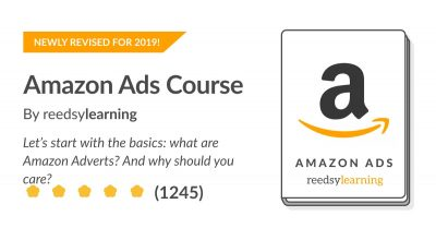 Amazon Ads Course by reedsylearning