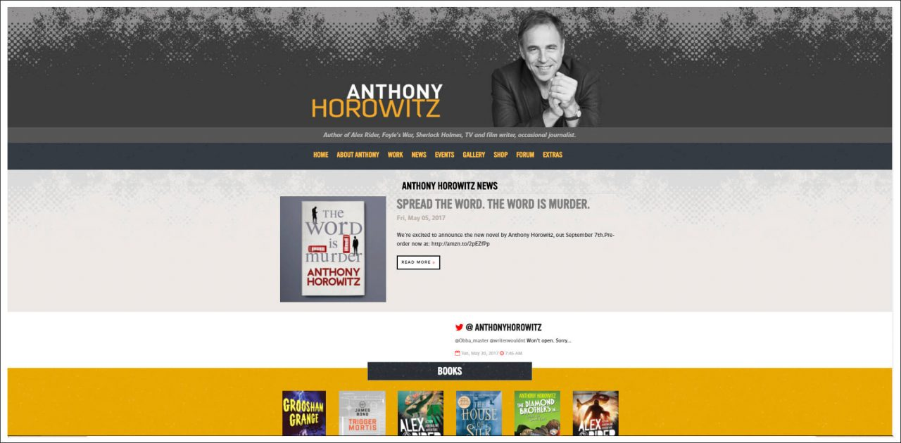 12 Author Websites That Get It Right • The Reedsy Blog