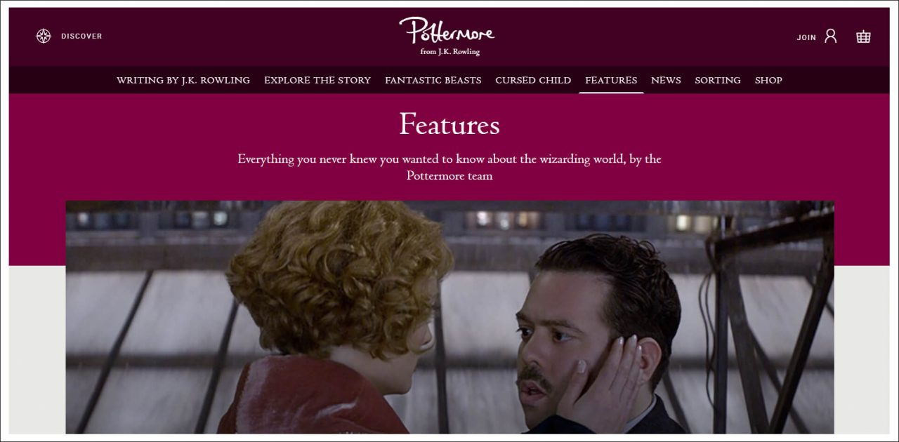 11 Author Websites That Get It Right - Pottermore