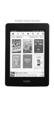 Amazon Ads for Authors | Ad on Kindle Home Screen