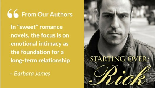 Barbara James quotation - Romance novel subgenres