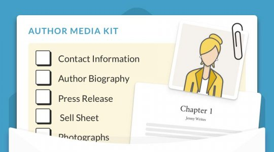 author media kit template header