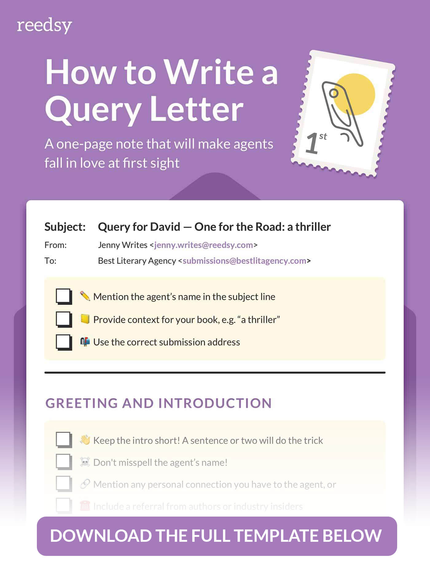 How To Write A Query Letter In 7 Steps Reedsy