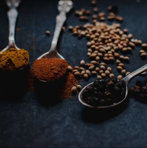 Spices and peppercorns - how to publish a cookbook