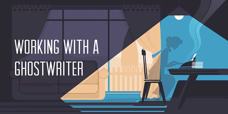 working with a ghostwriter