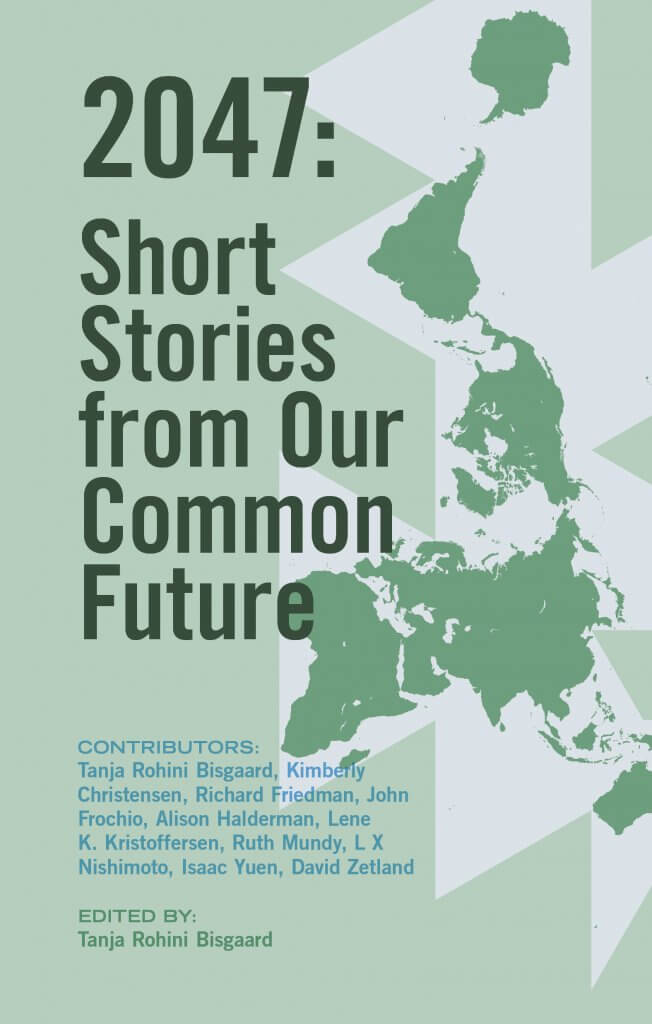 2047 Short Stories from Our Common Future Cover green