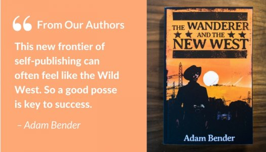Author Adam Bender and his book The Wanderer and the New West
