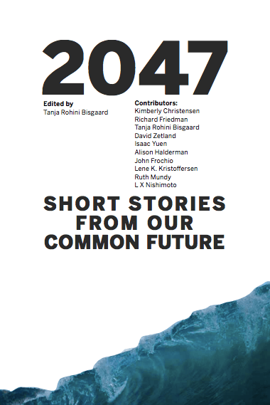 2047 Short Stories from Our Common Future Cover mountain
