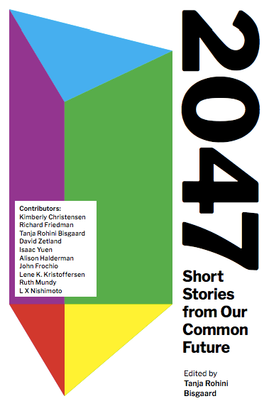 2047 Short Stories from Our Common Future Cover rainbow cover