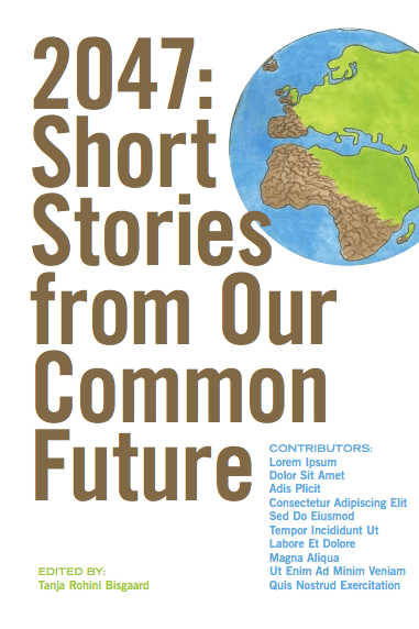 2047 Short Stories from Our Common Future Cover white