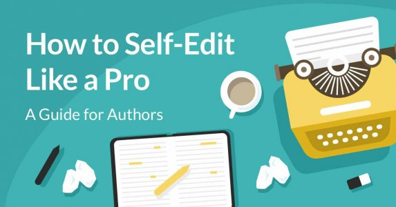 How to Self-Edit like a pro typewriter