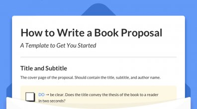 How to Write a Book Proposal [The Definitive Guide + Template]