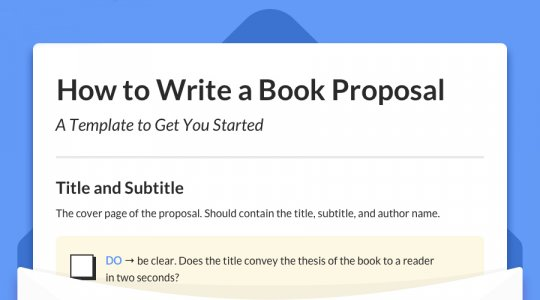 the complete guide to writing a book proposal