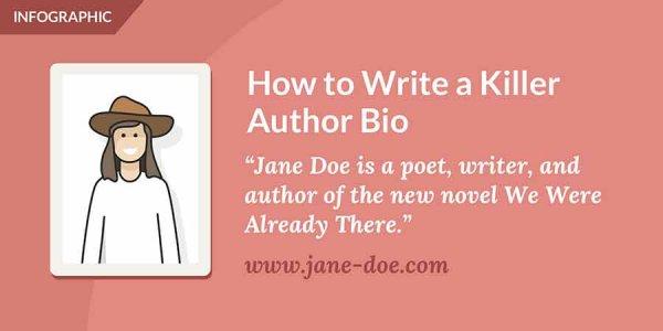 Reedsy's How to Write a Killer Author Bio