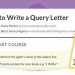 How to write a query letter course