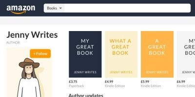How to Set Up Your Amazon Author Central Page