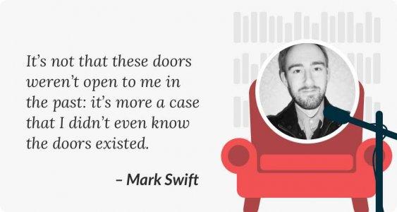 Mark Swift Case Study freelance editor quote