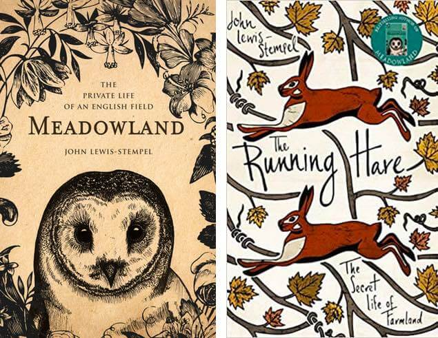The Meadowland and The Running Hare by John Lewis-Stempel