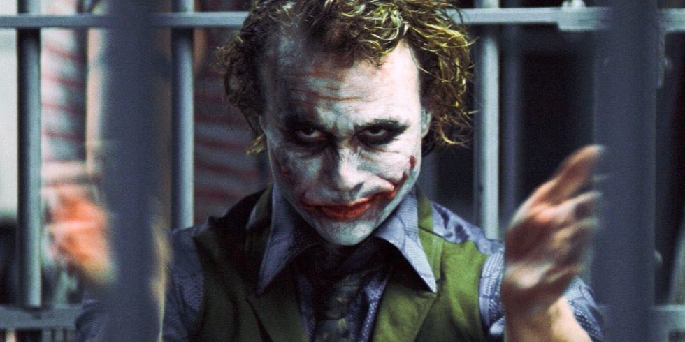 The Joker from The Dark Knight: A Psychotic Villain with irrational character motivations.