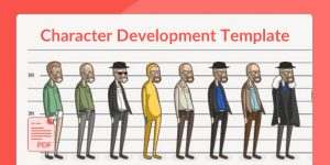 Character development template Walter White