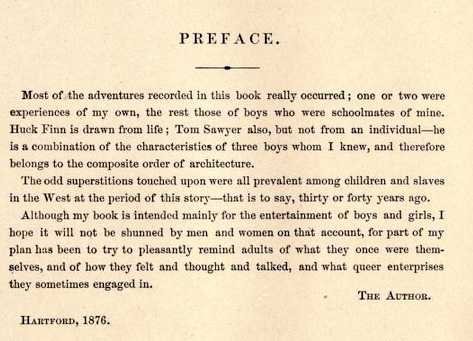 huck-finn-preface-by-mark-twain