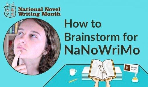 brainstorm NaNoWriMo