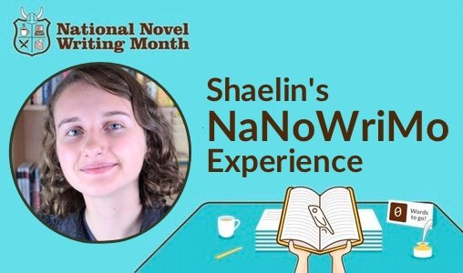 Shaelin's NaNoWriMo Story: Preptober Special