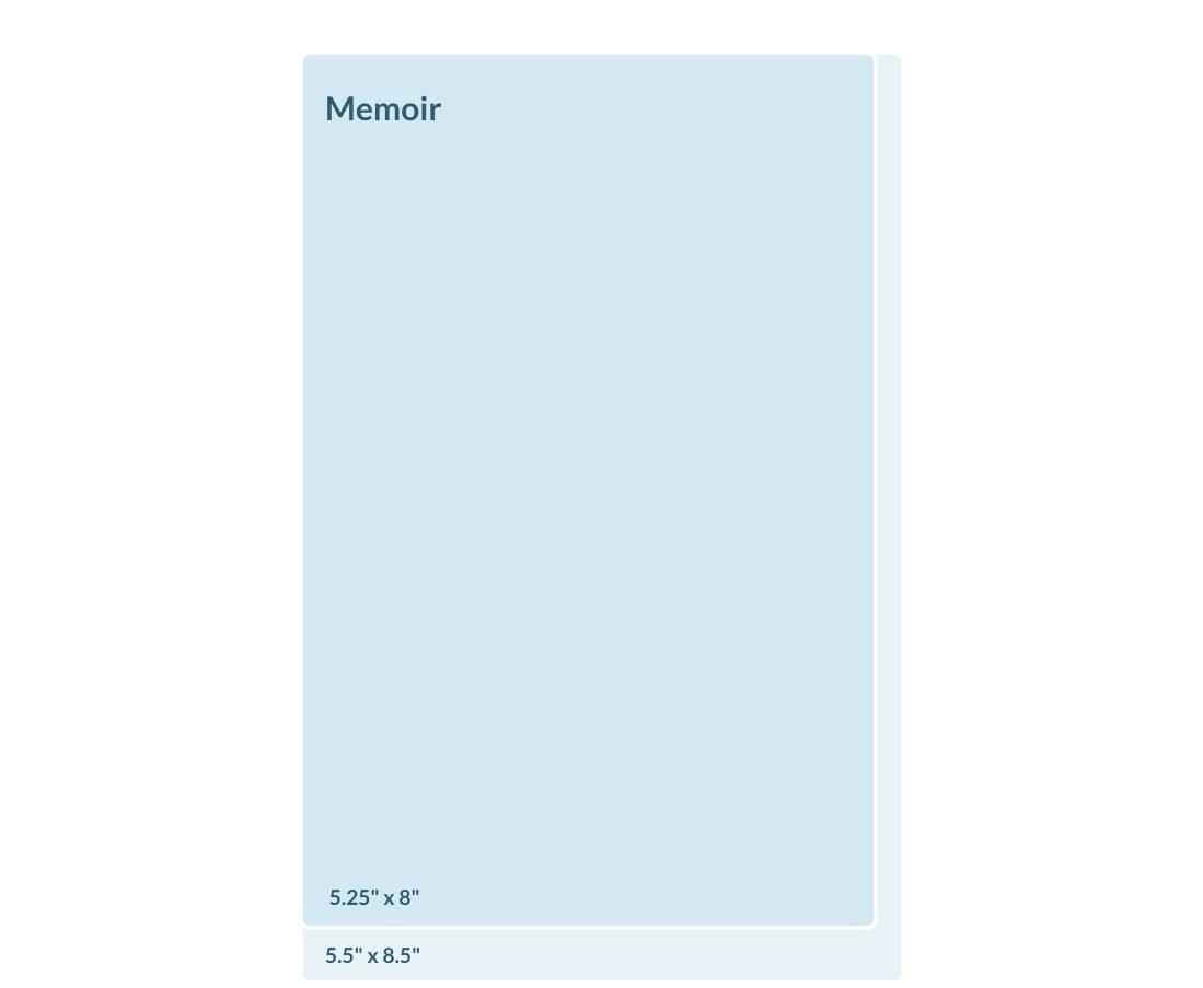 Standard Book Sizes | Sizes for a Memoir