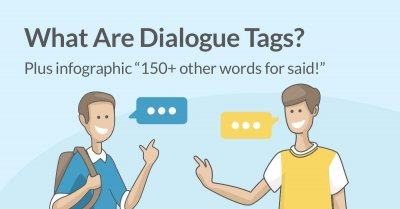 What Are Dialogue Tags? Plus Infographic: 150+ Words for