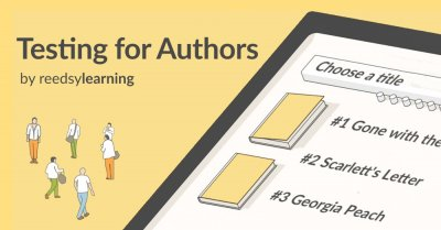 Testing as an Author by reedsylearning