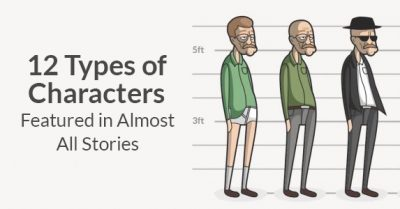 12 Types of Characters Featured in Almost All Stories