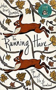 The Running Hare by John Lewis Stempel Book Cover Design