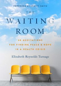 The Waiting Room by Elizabeth Reynolds Turnage Book Cover Design