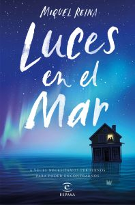 Luces en el Mar by Miguel Reina Book Cover Design