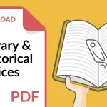 Literary and Rhetorical Devices Lists