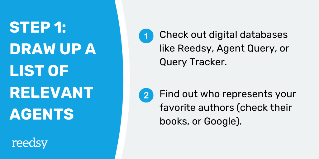 How to Find a Literary Agent | Step 1