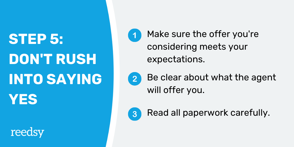 How to Find a Literary Agent | Step 5