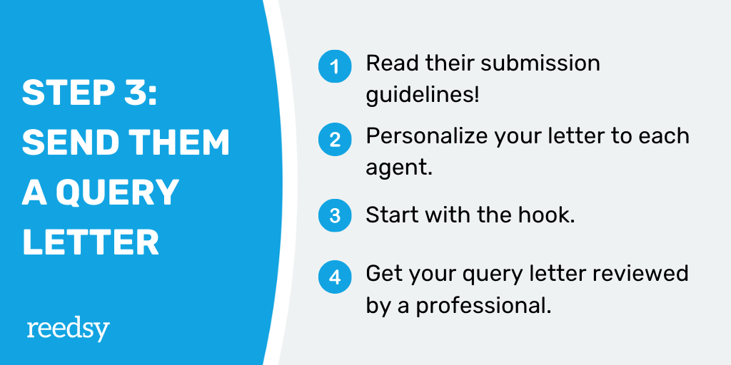 How to Find a Literary Agent | Step 3