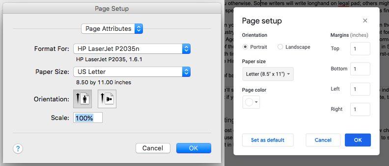 Manuscript Format | Setting your paper size