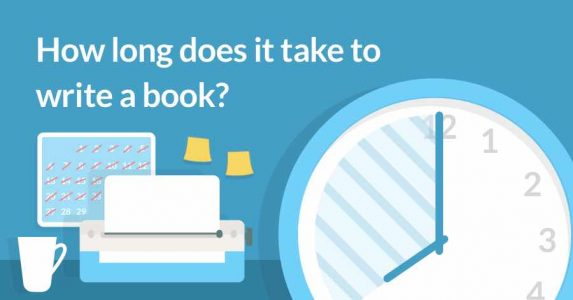 how long does it take to write a book
