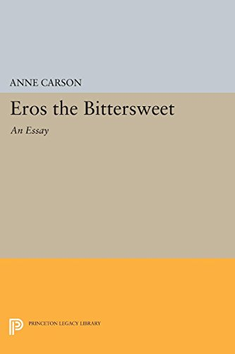 Anne Carson's Eros the Bittersweet, a great example of literary criticism as creative nonfiction.