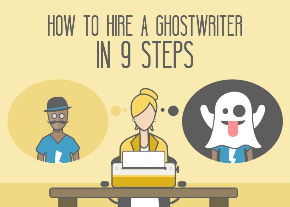 How to Hire a Ghostwriter | Find a Ghost You Can Trust