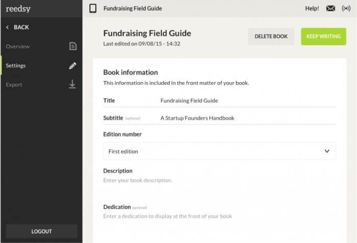 Parts of a Book | Formatting Front Matter with the Reedsy Book Editor