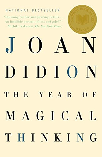 Joan Didion's The Year of Magical Thinking, a great example of memoir as creative nonfiction.
