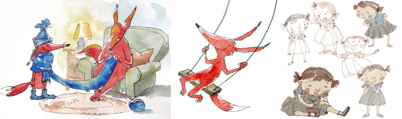 best children's book illustrators - evgenia malina