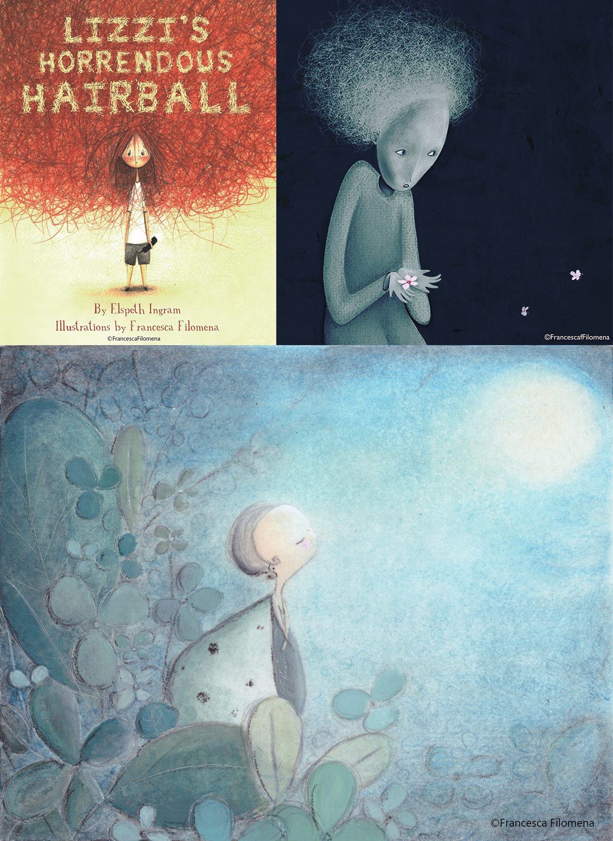 best children's illustrators - francesca